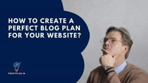 How to create a content plan for a website?